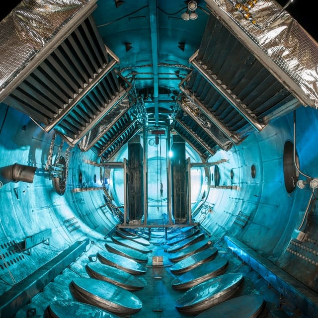 inside of spacecraft